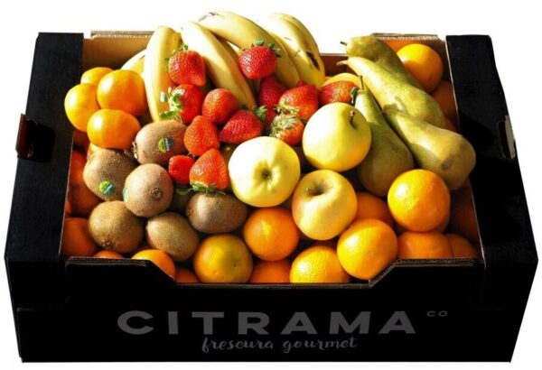 Cesta de 7 frutas de temporada